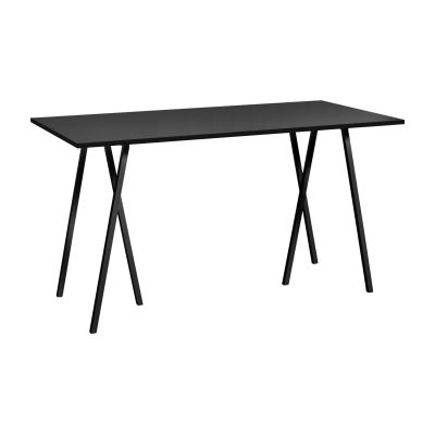 Loop Stand Rectangular Dining Table Black, 180