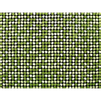 Lucky Rectangular Carpet One-colour carpet in 3 light-green gradations.