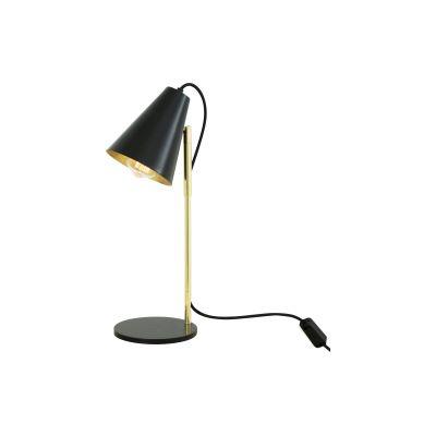 Lusaka Table Lamp Powder Coated White,  UL Plug