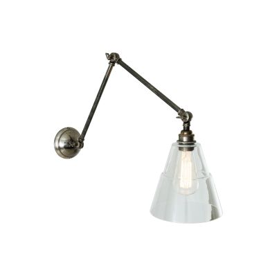 Lyx Adjustable Wall Light Antique Silver
