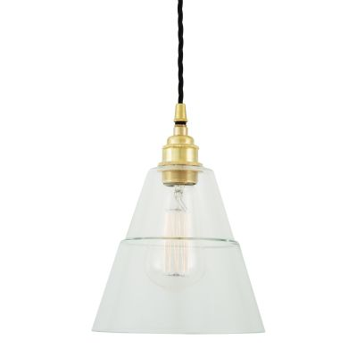 Lyx Pendant Light Satin Brass