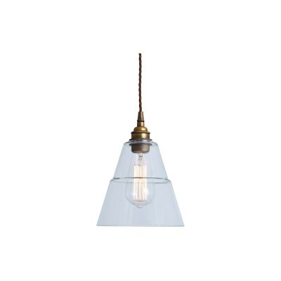 Lyx Pendant Light Antique Brass