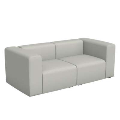 Mags 2 Seater Sofa Steelcut 2 660, CMHR - No