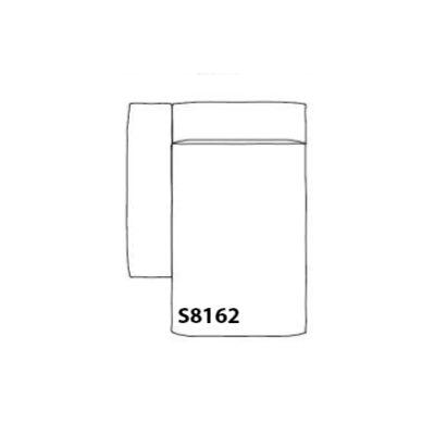 Mags Chaise Lounge Soft Modular Element S8162 - Left Hallingdal 65 100