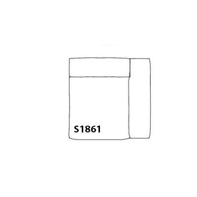 Mags Soft Corner Modular Seating Element S1861 - Right Hallingdal 65 100