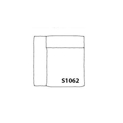 Mags Soft Narrow Modular Seating Element S1062 - Left Divina Melange 2 120