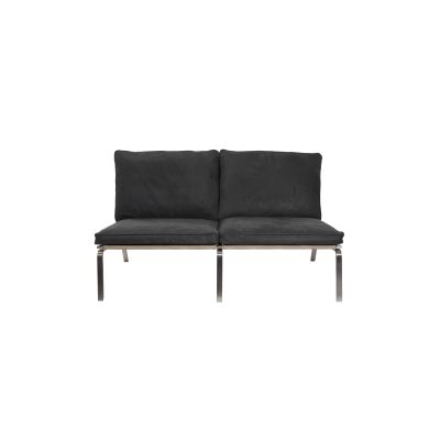 Man 2 Seater Sofa Anthracite Vintage Leather