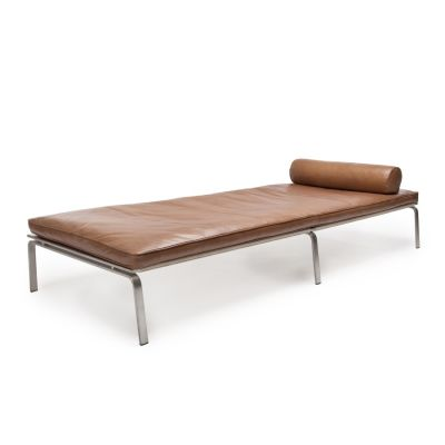 Man Day Bed Anthracite Vintage Leather