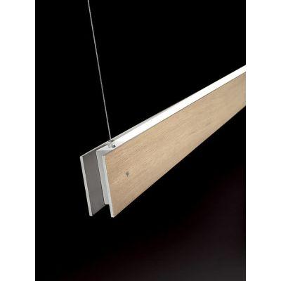 Marc Dos Suspension Lamp Oak, 2L, Fluorescent, Yes, 250