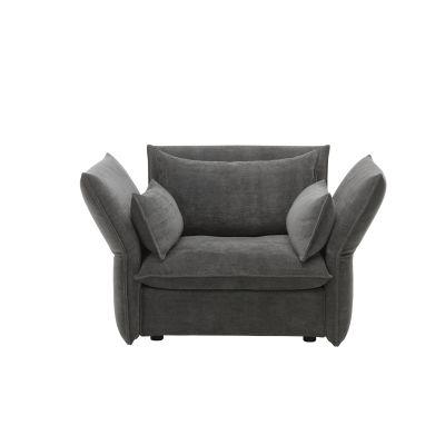 Mariposa Love Seat Olimpo 10 sierra grey