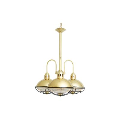 Marlow Chandelier Polished Brass