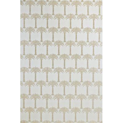 Marrakech Palm Wallpaper  Soft Gold