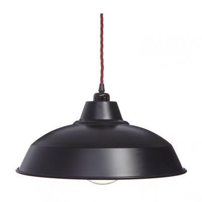 Matt Black Industrial Lamp Shade Matt Black Industrial Lamp Shade Only