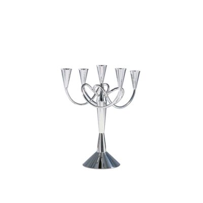 Matthew Boulton Candleholder I Polished Nickel Brass