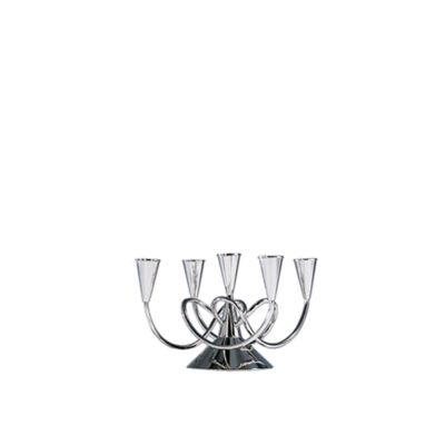 Matthew Boulton Candleholder II Polished Nickel Brass