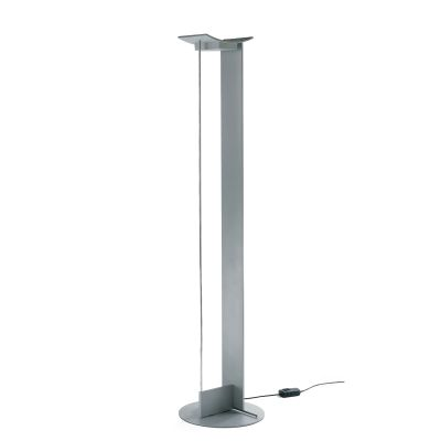 MCP LED Floor Lamp 121 Sandblasted Aluminium