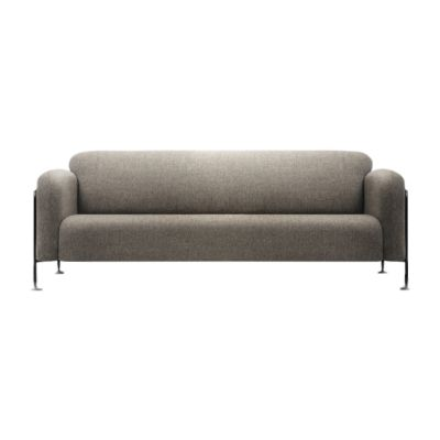 Mega 3 Seater Sofa Stone Grey - RAL 7030, 7027.01