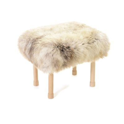 Megan Sheepskin Footstool Rare Breed