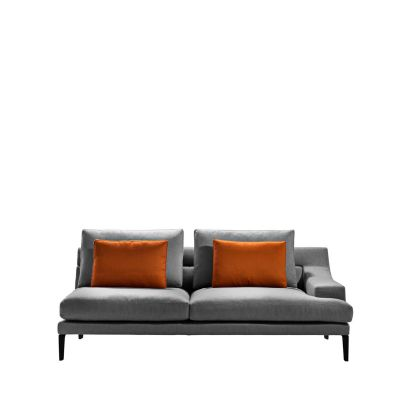 Megara Three-Seater Element Sofa Cairo - Bianco 01, Right