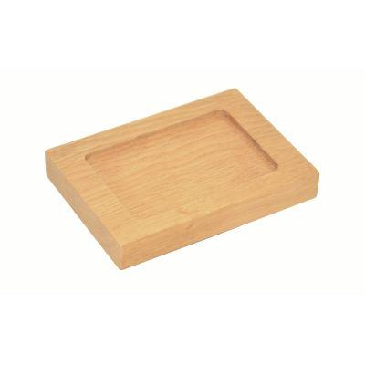Mezza Soap Dish Natural Oak