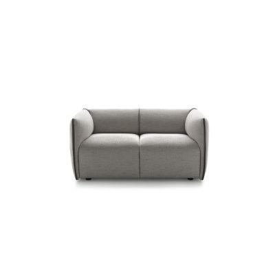 Mia Sofa, 2 Seater Pelle_albicocca_R801, 174cm