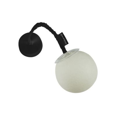 Micro Luna Applique Wall Lamp Black