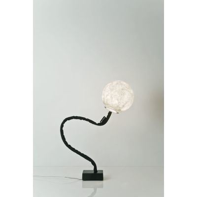 Micro Luna Piantana Floor Lamp White