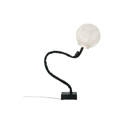 Micro Luna Piantana Floor Lamp Black