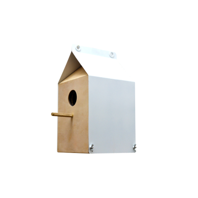 Milk Carton Inspired Birdhouse