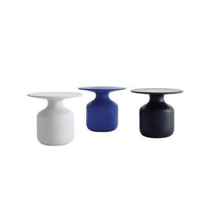 Mini Bottle Service table Matt Satined Blue