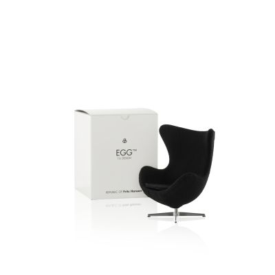Miniature Egg Chair - Set of 2 Black