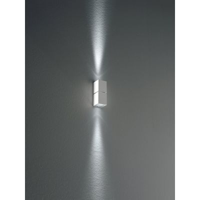 Miniblok Wall Lamp 10 Satin Silver