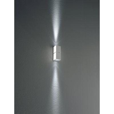 Miniblok Wall Lamp 10 Satin Silver