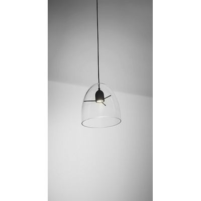 Minicentra S1 Pendant Light Transparent-Black, E27