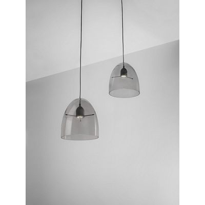 Minicentra S2 Pendant Light Transparent-Black, E27