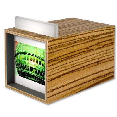 Minikomat Lightbox Zebrawood