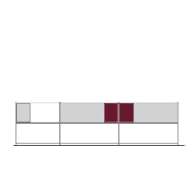 Minima Shelf D Graphite Grey