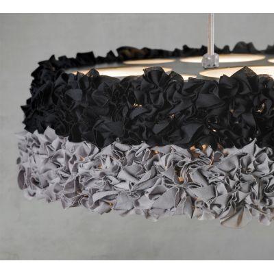 Miuu MI04-LD Pendant Lamp Black, Black Cable