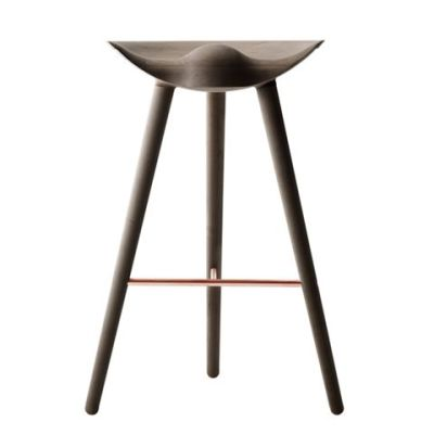 ML42 Barstool Brown Oiled Oak / Copper