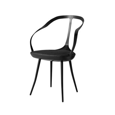 Mollina Chair Black, Paranà - Bianco 157