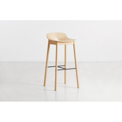 Mono Bar Stool Wood care treated oak