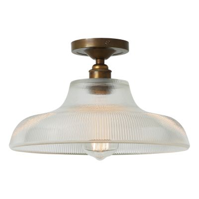 Mono Ceiling Light Satin Chrome