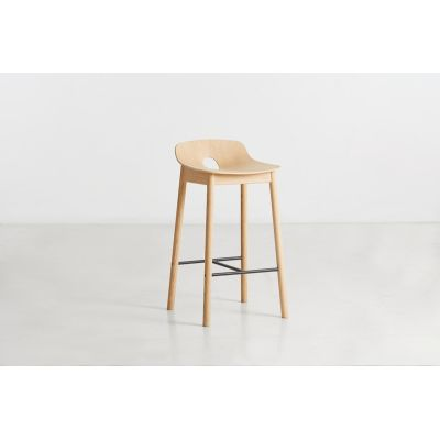 Mono Counter Stool Wood care treated oak