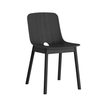 Mono dining chair - set of 2 Black