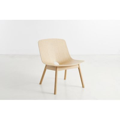 Mono Lounge Chair Wood care treated oak