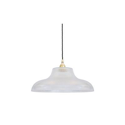Mono Pendant Light Satin Brass