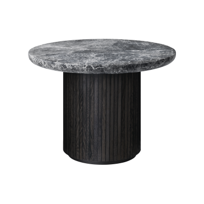 Moon Round Marble Coffee Table Gubi Marble Bianco Carrara, 150