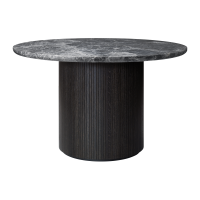 Moon Round Marble Dining Table Gubi Marble Bianco Carrara, 150cm