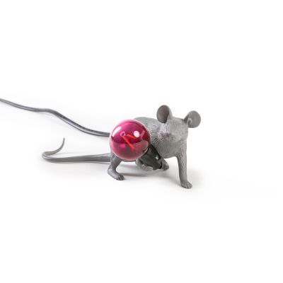 Mouse Lamp (Set of 2) Grey - Lie Down