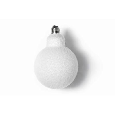 Muscar Fluffy Lightbulb White